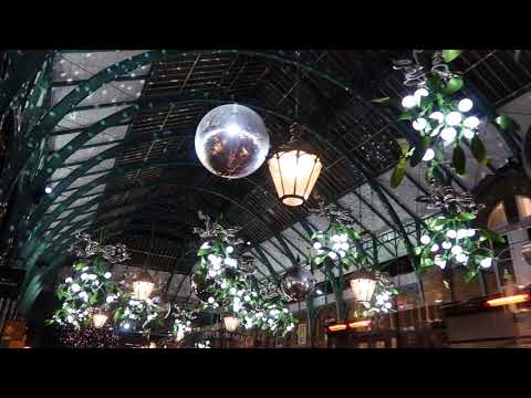 Covent Garden Christmas Lights Covent Garden London Festival