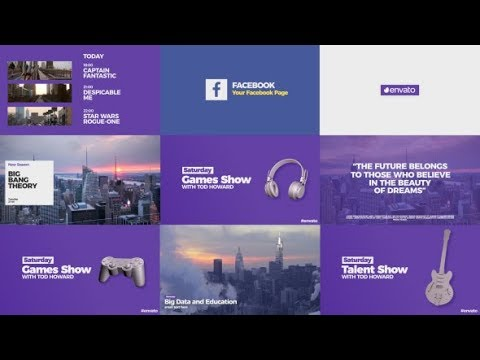 Modern Broadcast Pack | Free After Effects Templates From
