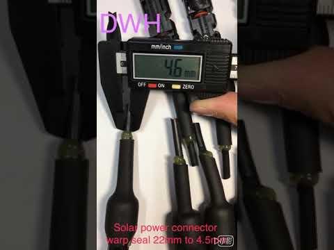 DWH-Solar power connector wrap seal
