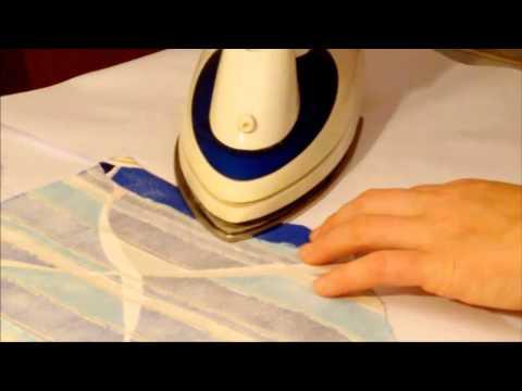 Stoff auf Stoff kleben so gelingt eine Stoffbespannung
