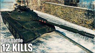 Объект 140 колобанов 12 фрагов 🌟 карта: Химмельсдорф 🌟 World of Tanks лучший бой на ст об 140