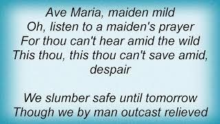 Aretha Franklin - Ave Maria Lyrics