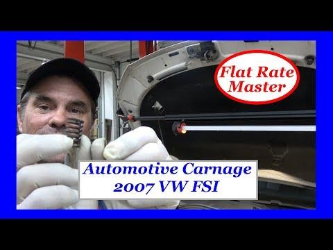 Automotive Carnage 2007 VW FSI