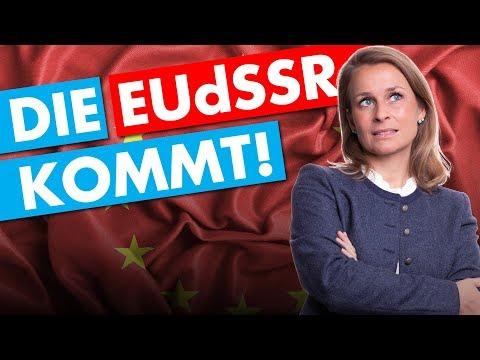 EU-Superstaat? Der Plan von Merkel, Junker und Macron. - Corinna Miazga in Fulda am 23. Mai 2019