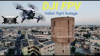 DJI FPV MANUAL ACROBATIC FLIGHT | INDIA