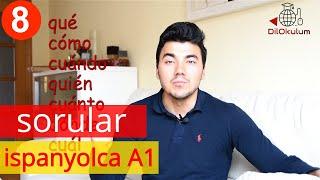 Kolay İspanyolca Dersi 8 - Ispanyolca Soru Kelimeleri qué cómo cuándo ... - A1