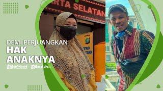 Happy Hariadi Sambangi Polres Metro Jakarta Selatan demi Perjuangkan Hak Anaknya