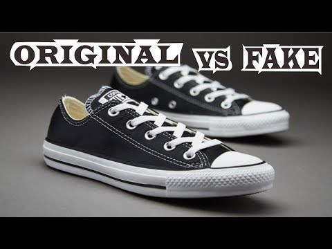 Converse Chuck Taylor All Star Low Original & Fake