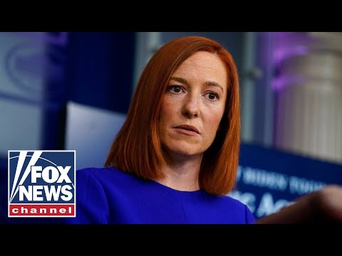 Live: Jen Psaki holds White House press briefing