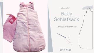 Baby -Schlafsack selber nähen - ganz einfach