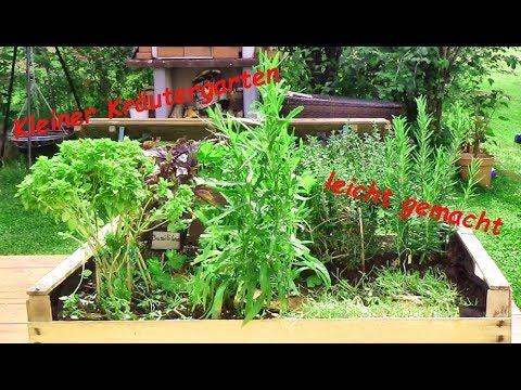 Kleiner Kräutergarten leicht gemacht - DIY