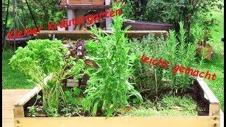 Kleiner Kräutergarten leicht gemacht