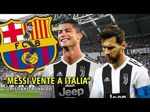 4 Cosas que pasarian si Lionel Messi se une con CR7 como dijo Cristiano Ronaldo