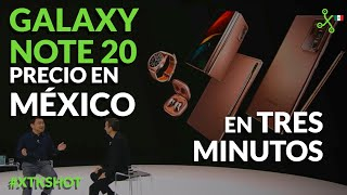 XTKShot: Samsung Galaxy Note 20 Ultra, los audífonos de frijol  y SU PRECIO EN MÉXICO