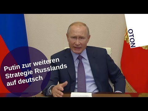 Putin zur weiteren Strategie Russlands auf deutsch [Video]