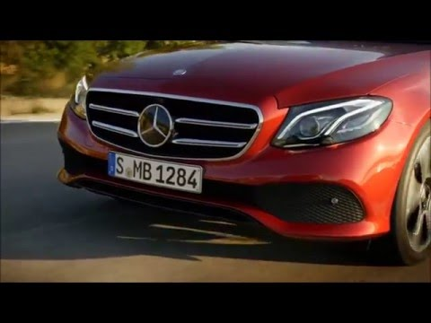 "Mercedes-Benz 2017 E-Class Trailer ""Masterpiece of Intelligence"""