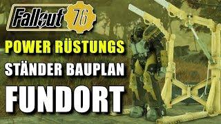 Power Rüstung Ständer Bauplan   Fundort   Fallout 76