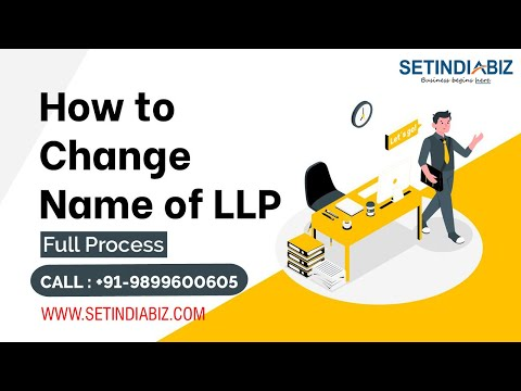 Change name of llp