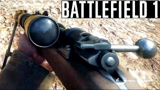 BATTLEFIELD 1 Sniper Mission Gameplay Campaign