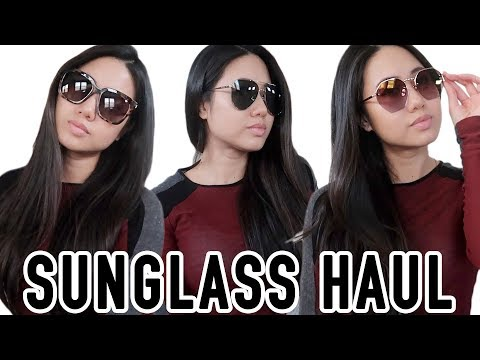 These Sunglasses Give Back! | DIFF Charitable Eyewear | Sunglass Haul, Review, and unboxing