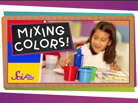 Mixing Colors!