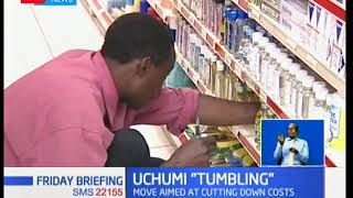 Kenya's retail store Uchumi Supermarkets announces the closure of it's hyper market Sarit Centre