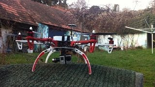preview picture of video 'DJI f550 Hexacopter just having FUN , fast flying'