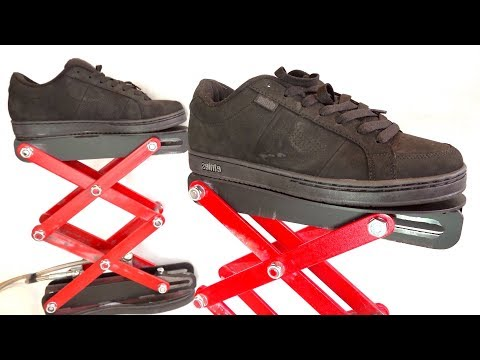 Stand Tall with These Awesome Hydraulic Scissor Lift Shoes