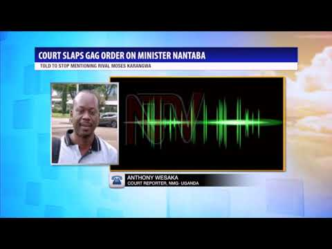 Minister Nantaba barred from talking about Moses Karangwa