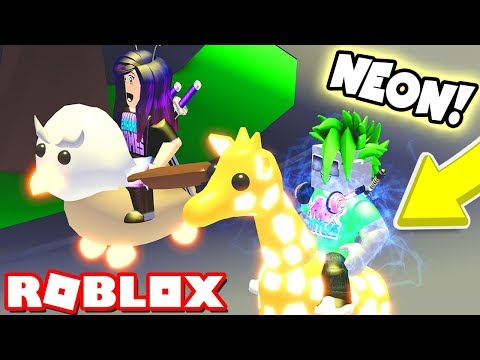 EVERY LEGENDARY NEON PET in Roblox Adopt Me!