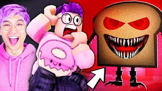 Can You Escape From EVIL BREAD?! (SCARY ROBLOX GAME)