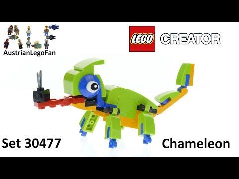 Vidéo LEGO Creator 30477 : Caméléon (Polybag)