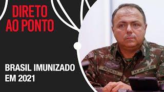 """""""Nós vamos vacinar o Brasil todo ainda esse ano"""", afirma Pazuello"""