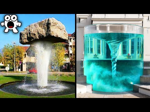 Top 20 Amazingly Creative Water Fountains That Will Blow Your Mind