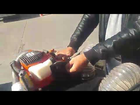 Yaprakmatik 125 - Yaprak ve Çöp Toplama Makinası