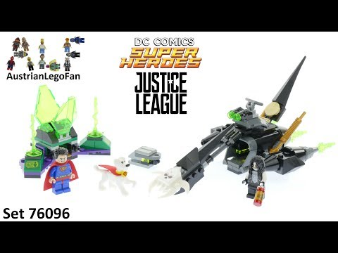 Vidéo LEGO DC Comics Super Heroes 76096 : L'union de Superman et Krypto