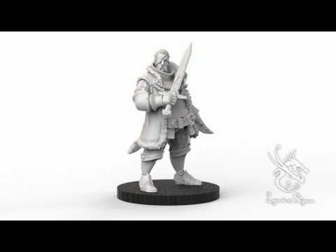 Boas, Militia Captain 3D