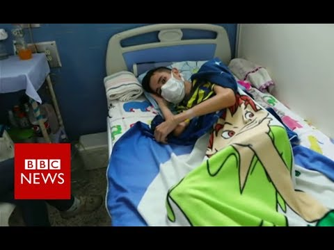 Venezuela's health system in state of collapse - BBC News