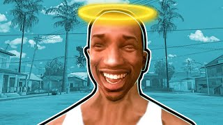 GTA San Andreas is a lot more funny if you play as a pacifist