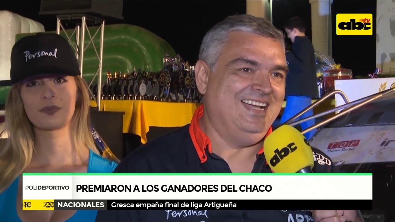 Fueron premiados los ganadores del Rally del Chaco 2018