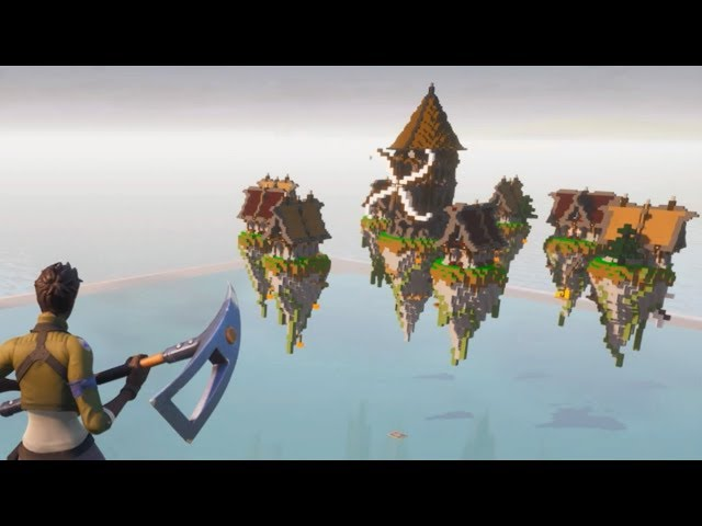 FORTNITE SKYWARS : MINECRAFT
