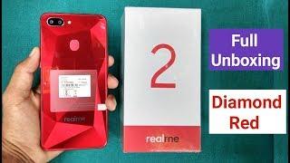RealMe 2 Full Unboxing (Diamond Red) 3gb/32gb Version,  ₹8990