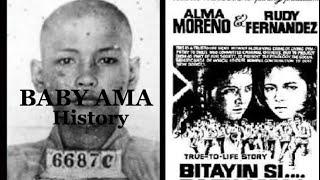 "MARCIAL ""BABY AMA"" PEREZ |HISTORY"