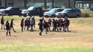 preview picture of video 'SUNY Plattsburgh vs. Union Woman's Rugby (9/27/14)'