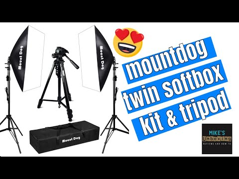 Best Budget Twin Softbox Photography Kit With Tripod