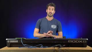 Yamaha MODX8 Synthesizer with Luke Juby