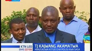 Mbunge wa Ruaraka TJ Kajwang atiwa mbaroni kwa madai ya uapishaji wa kinara wa NASA Raila Odinga