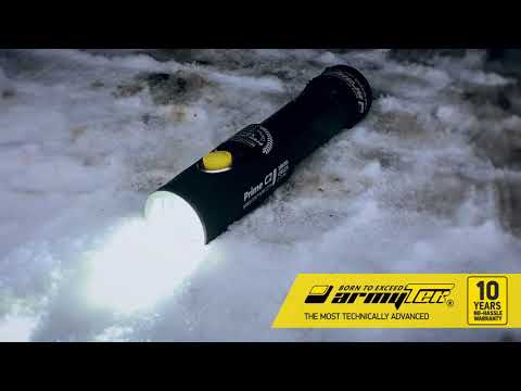 Armytek Prime C2 under the wheels of the car!