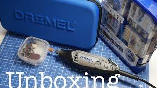 Unboxing Dremel 3000 + 100 teiliges Zubehör Set - deutsch -