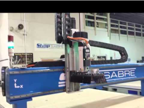 ShopSabre CNC Router Picture Videovideo thumb